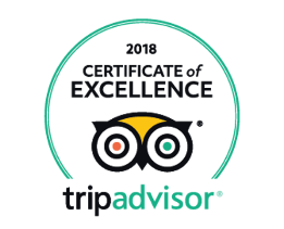 Trip advisor certificate of excellence - 2018