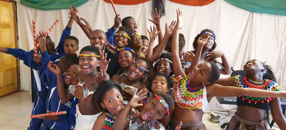 supporting girls education in South Africa